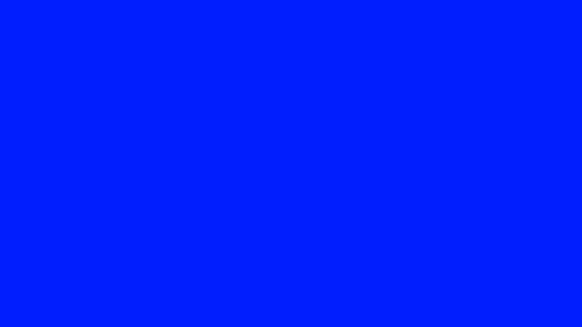 A purely blue image