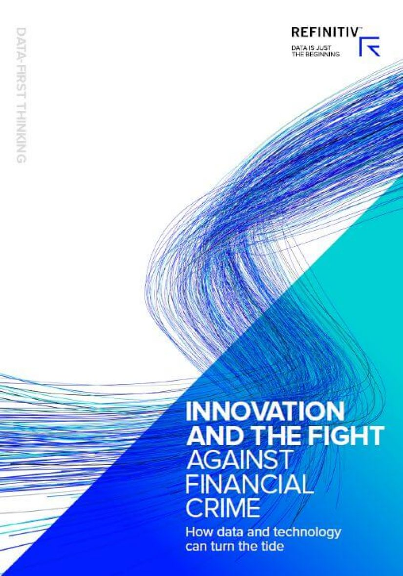 Innovation and the fight against financial crime report front page