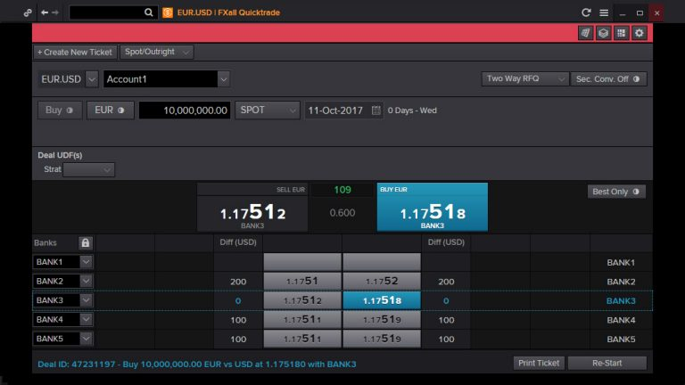 FXall quicktrade screenshot