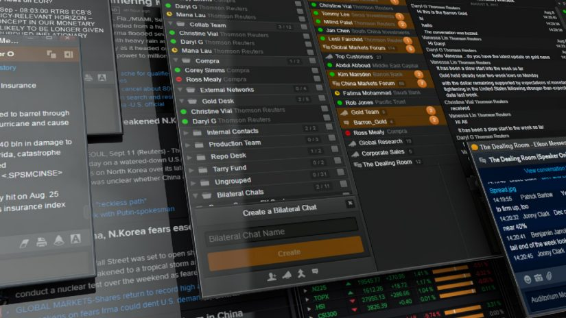 Eikon Messenger video screenshot