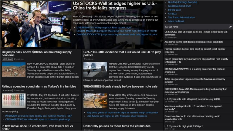Knowledge direct news screenshot