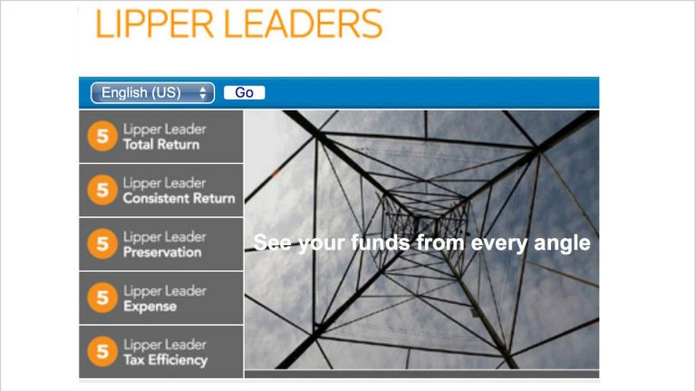 Lipper leaders screenshot