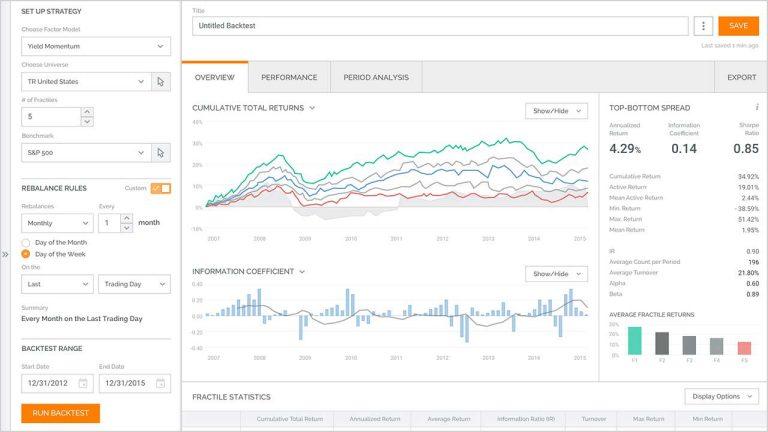 QA Point Quantitative Investment Management | Refinitiv