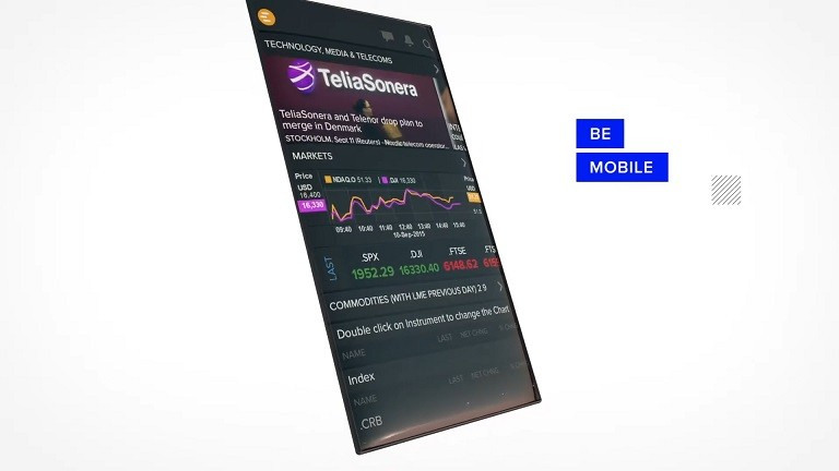 Video overview of Eikon mobile applications including apps for iPhone and Android.