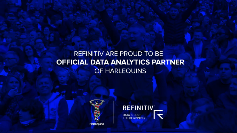 Refinitiv announce partnership with Harlequins official video
