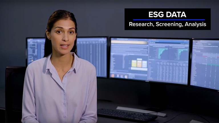 Video overview of our environmental, social and governance (ESG) research data
