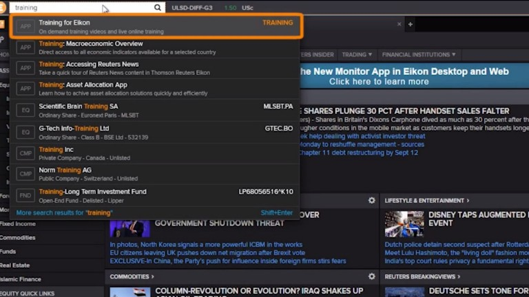 Introduction to Eikon Messenger training & support video screenshot
