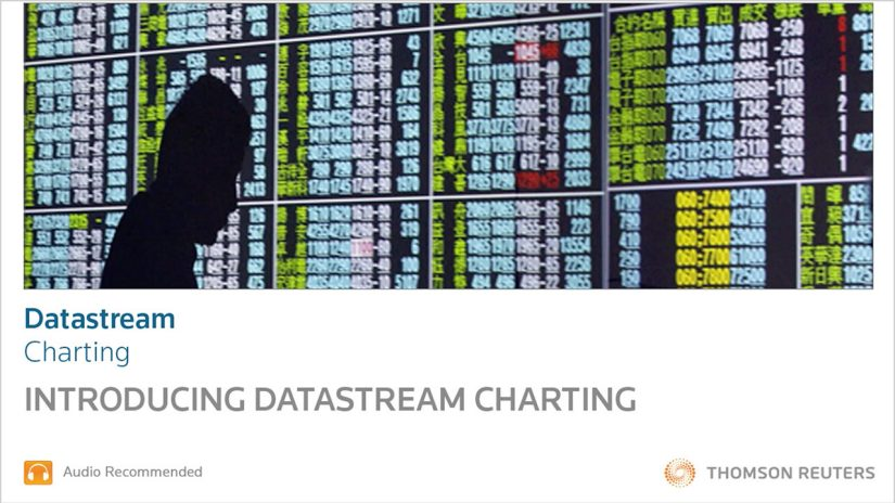Datastream- Introduction to Datastream charting training and support video screenshot