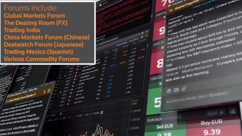 Introduction to Eikon Messenger Forums training & support video screenshot