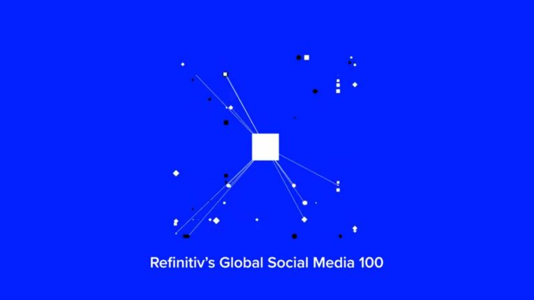 The top 100 global social media influencers in financial technology:  #RefinitivSocial100