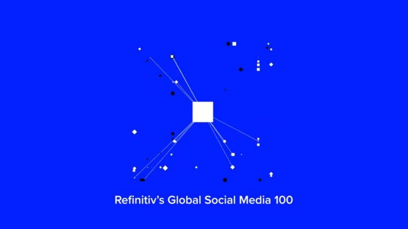 The #RefinitivSocial100 list of the top social media influencers in financial technology.