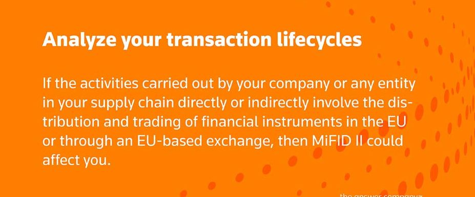 Analyze your transaction lifecycles