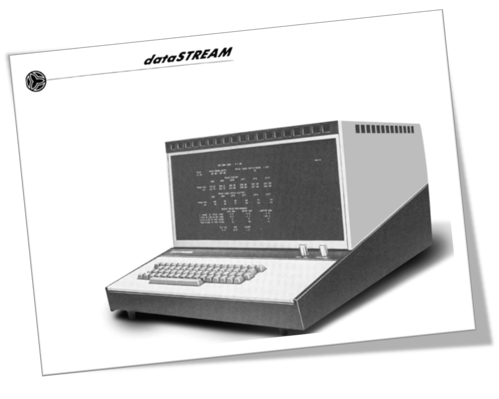 One of the original dataSTREAM terminals