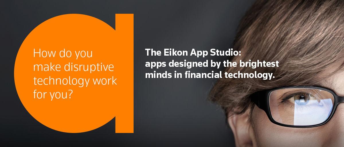 Eikon app Studio