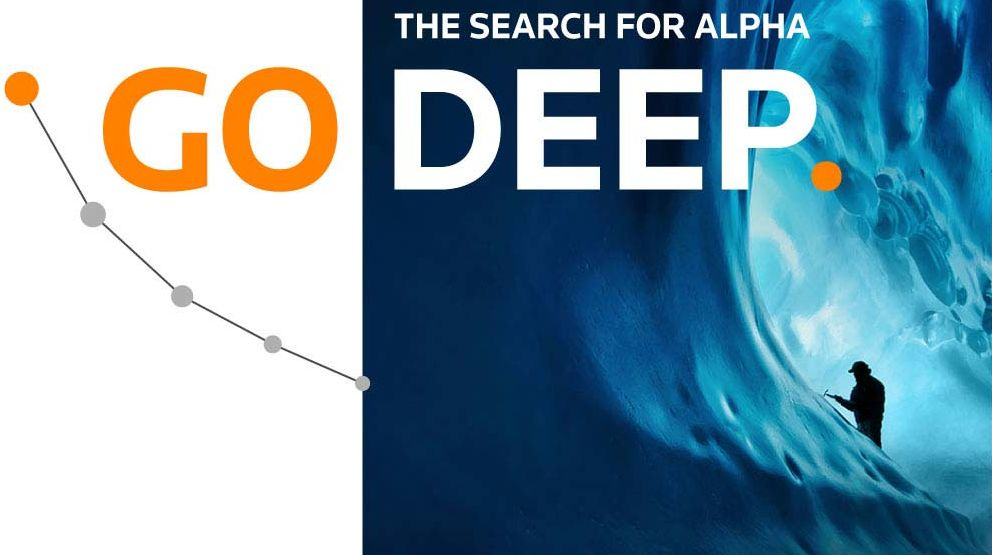 The search for alpha: Go deep. Destination Quant