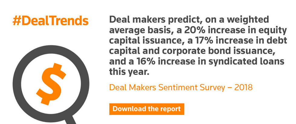 Deal Makers Sentiment Survey – 2018 Statistic