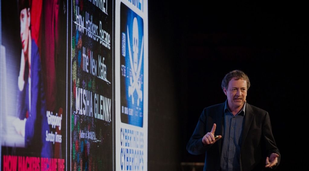 Misha Glenny spoke about how criminal networks are exploiting digital channels