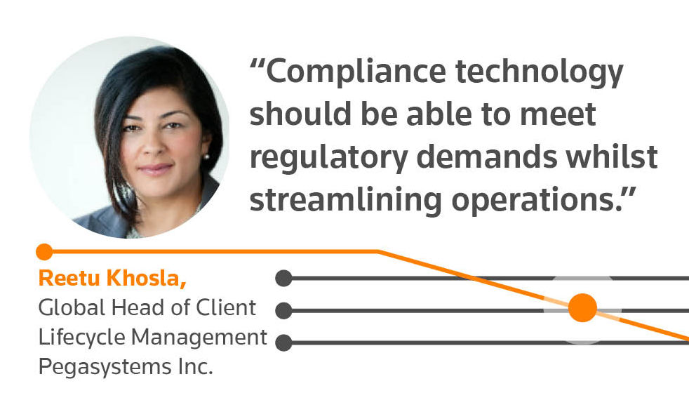 The technologies helping to change compliance. Reetu Khosla quote