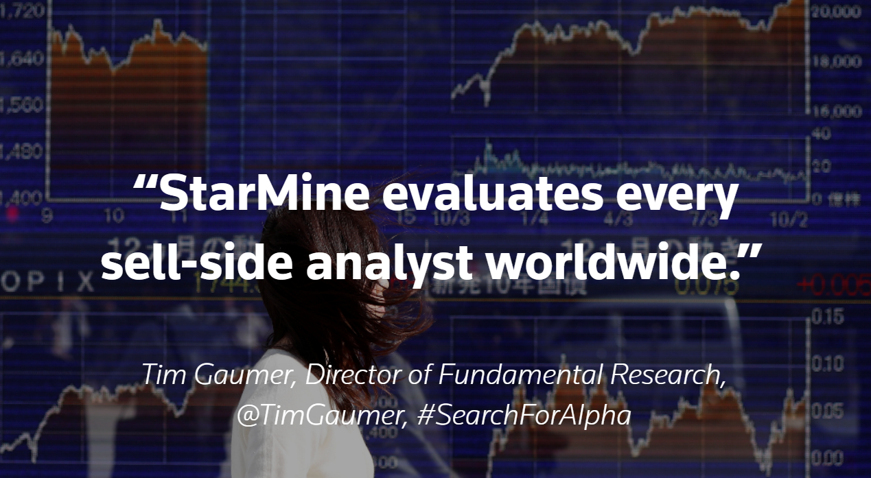 StarMine evaluates every sell-side analyst worldwide