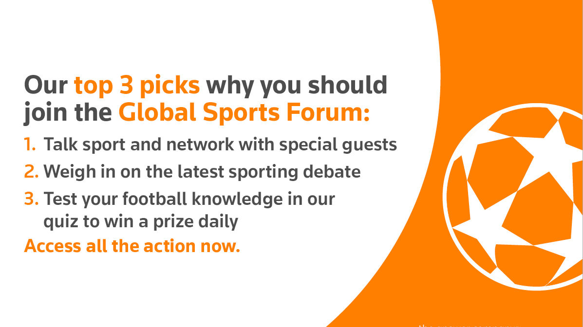 Our top 3 picks why you should join the Global Sports Forum