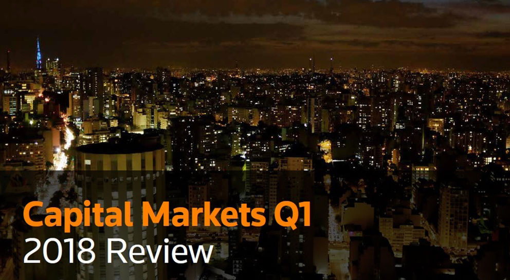 Thomson Reuters Capital Markets Q1 2018 Review