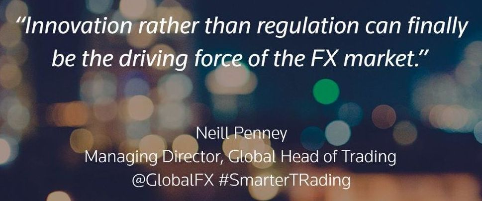 Global FX: Now it's time for innovation. Neill Penny Quote