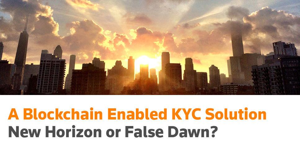 Blockchain enabled KYC solution