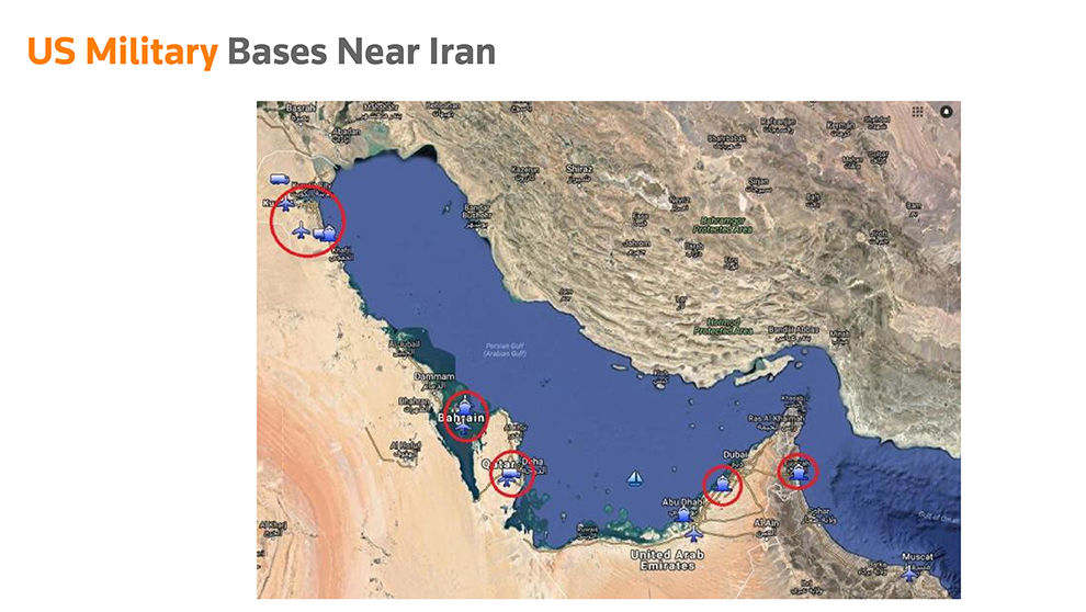 Strait of Hormuz: Can Iran halt the oil tankers U.S Military Bases Near Iran