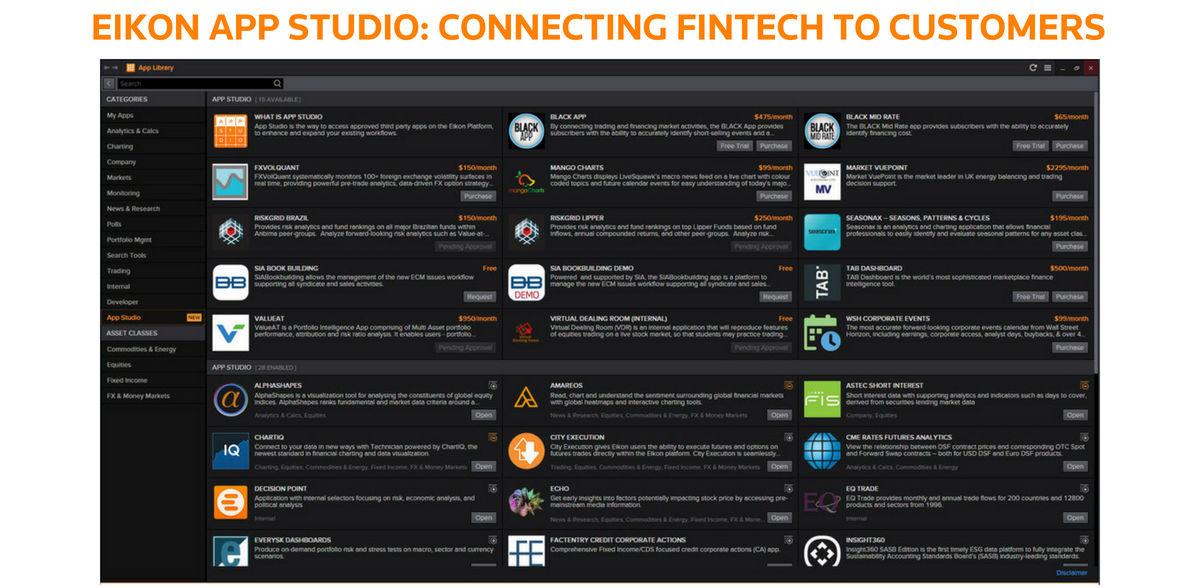 The-rise-of-financial-data-platforms. Eikon App Studio