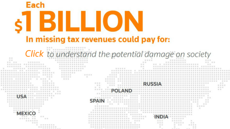 $1bn in missing tax revenues could pay for...