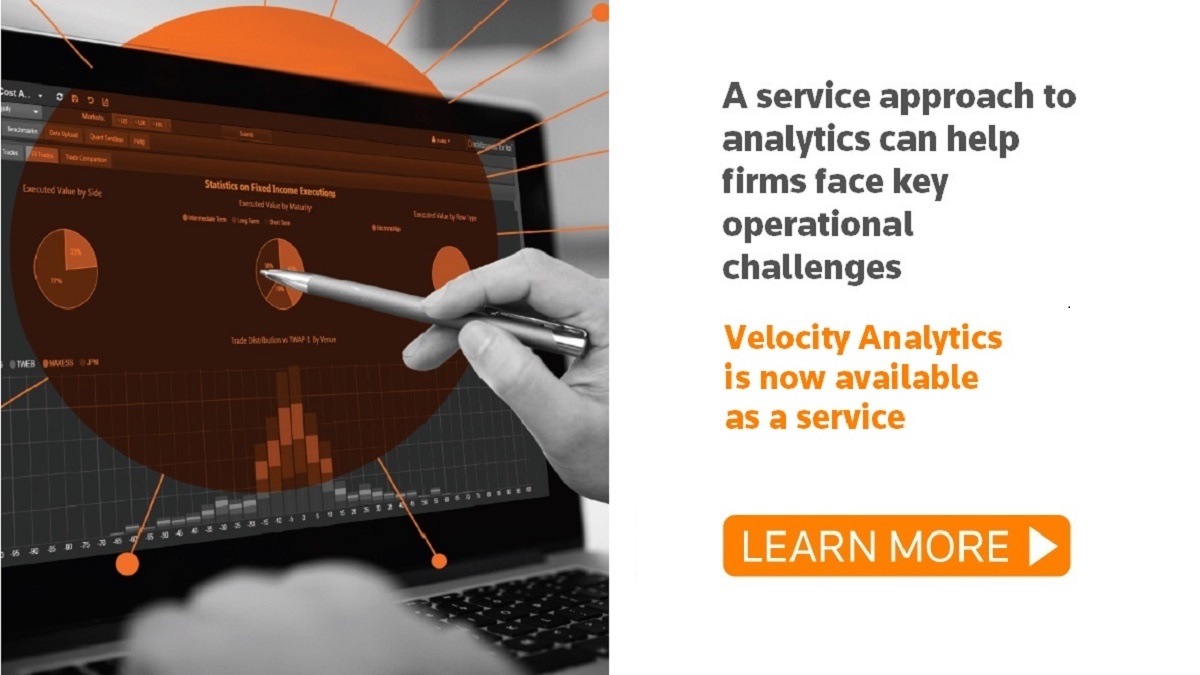 Velocity Analytics is now available as a service. A new force in managed data services