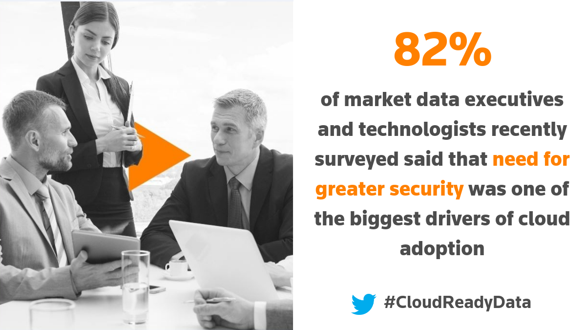 Statistic. Cloud adoption shows data security progress