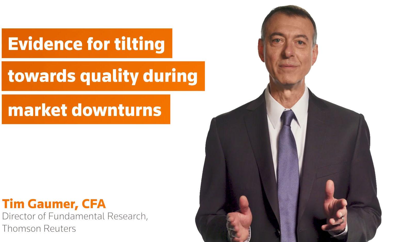Evidence for titling portfolios toward quality during market downturns