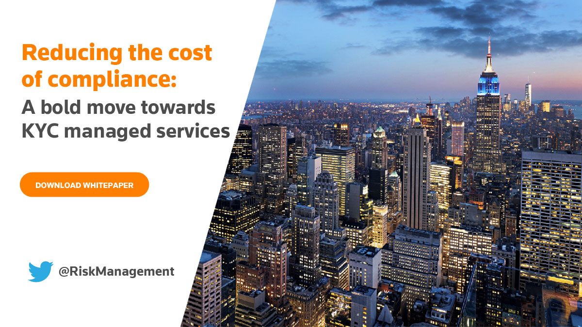 Reducing the cost of compliance: A bold move towards KYC managed services