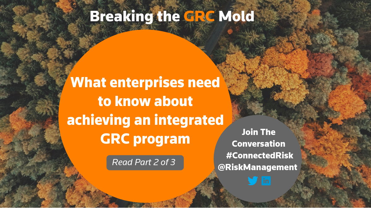 Achieving an integrated GRC program