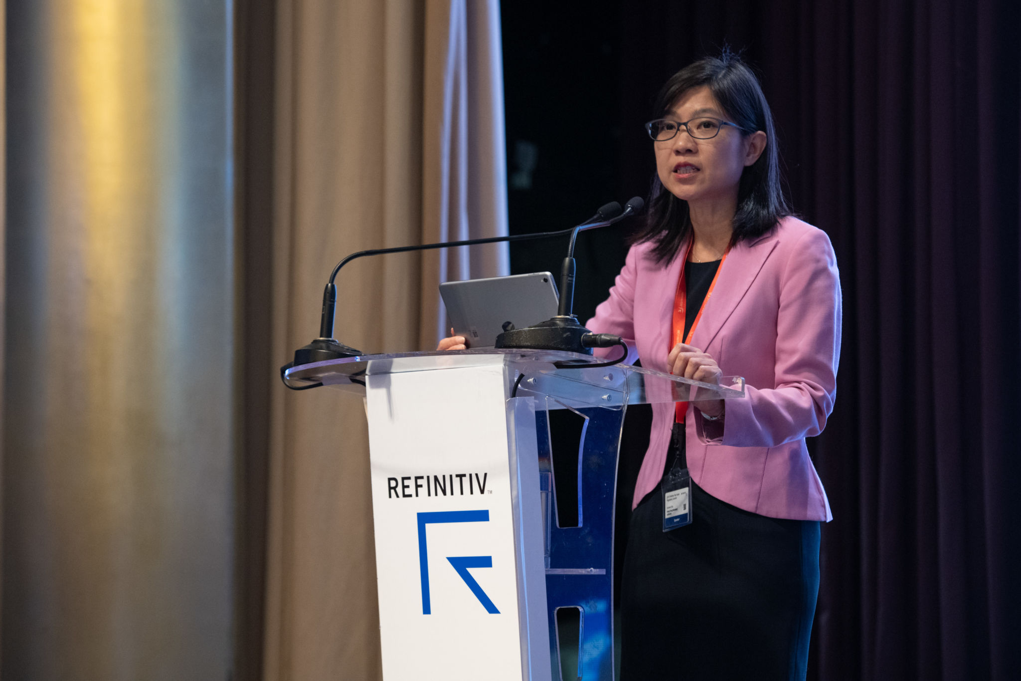 Carmen Chu, Executive Director, Enforcement and AML, Hong Kong Monetary Authority, speaking at the 2018 Refinitiv Pan Asian Regulatory Summit