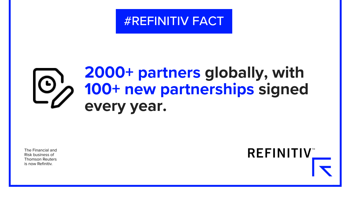 Innovation and expertise through collaboration | Refinitiv