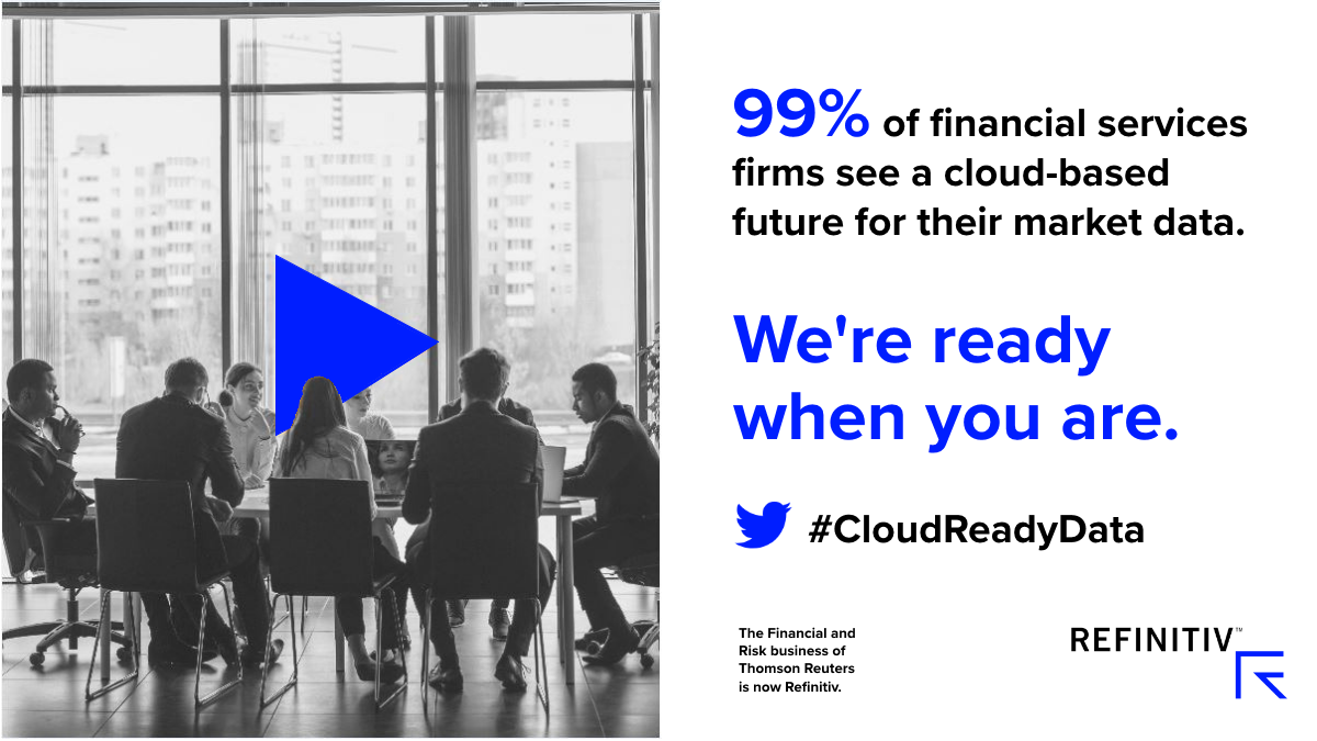 Financial services firms see a cloud-based future for their market data