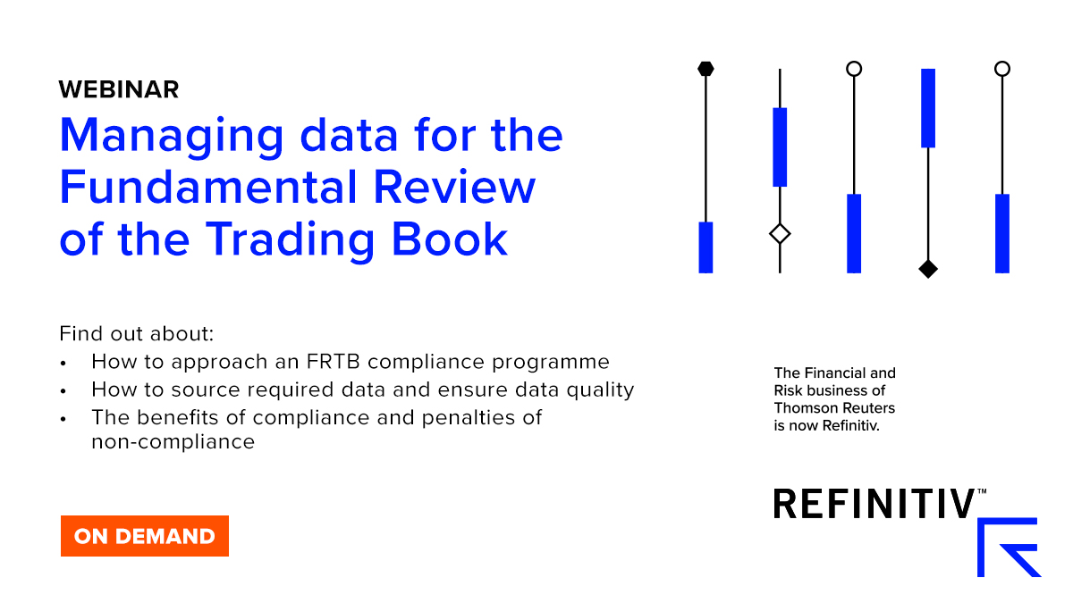 Managing data for the Fundamental Review of the Trading Book (FRTB)