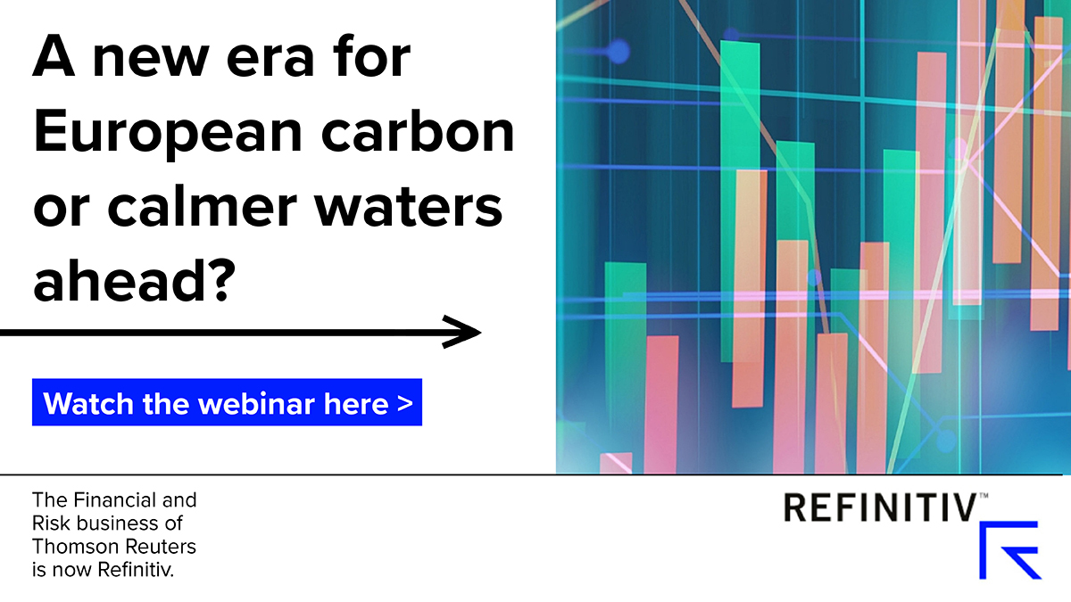 Watch the webinar: A new era for European carbon or calmer waters ahead? Will high European carbon prices last?
