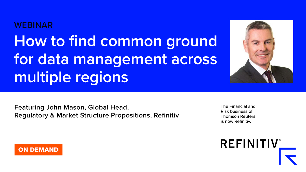 How to find common ground for data management across multiple regulations