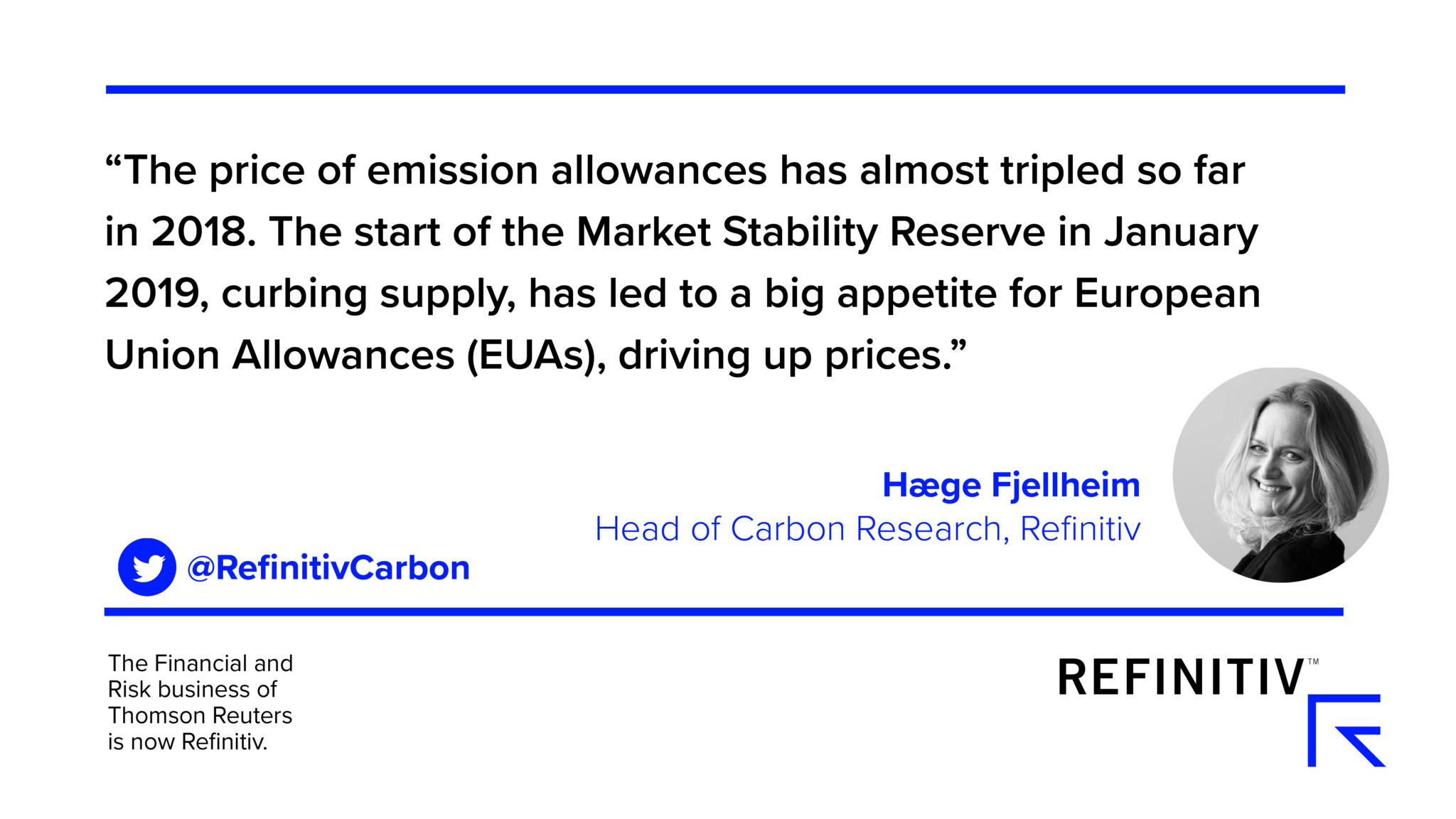 Hæge Fjellheim quote. Will high European carbon prices last?