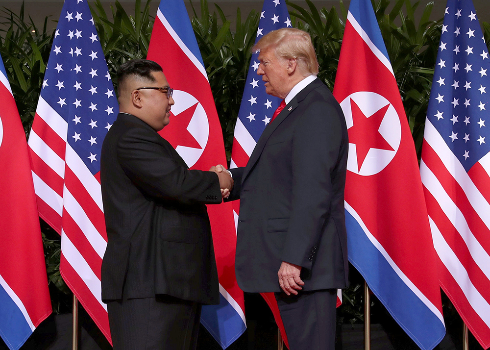 Donald Trump met Kim Jong Un in Singapore during 2018. Asia in 2019: Reshaping financial services