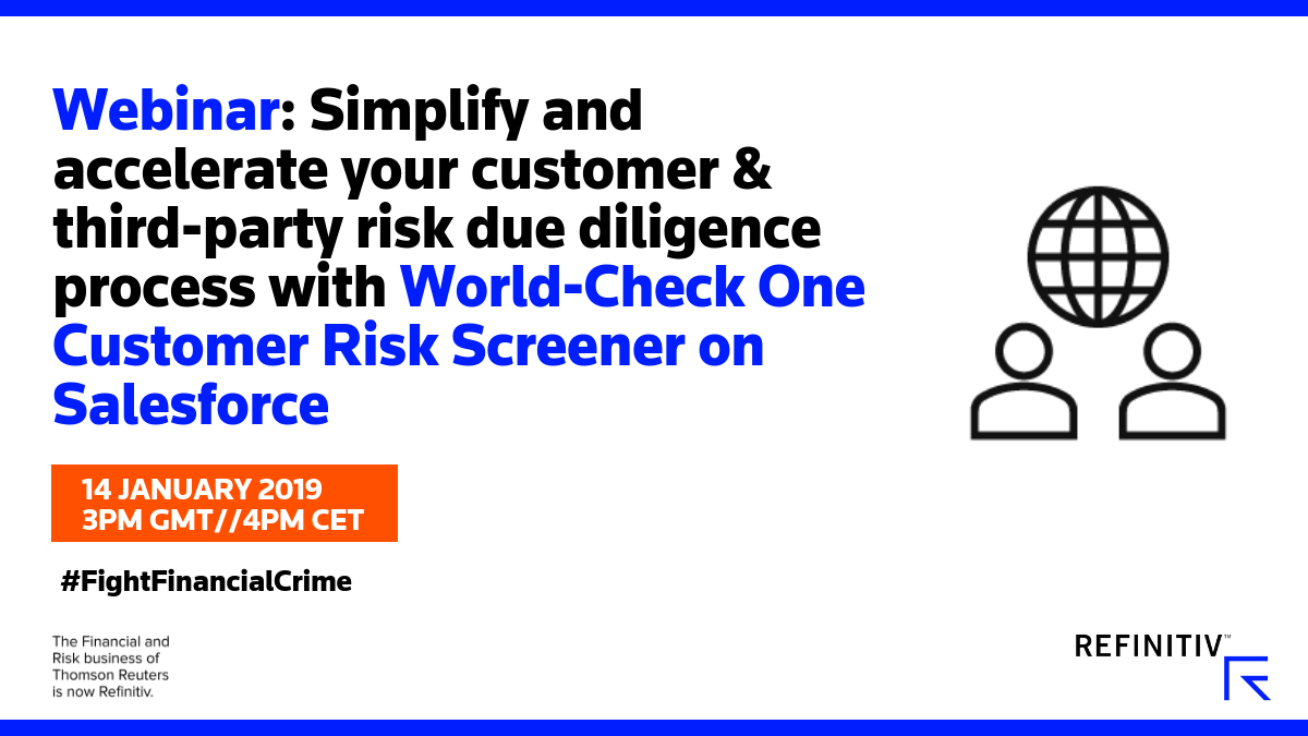How to simplify and accelerate your customer & third-party risk due diligence. How to fight financial crime in 2019