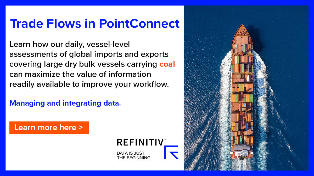 Trade flows in PointConnect. The coal market outlook in 2019
