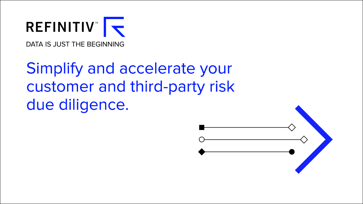 Simplify and accelerate your customer and third-party due diligence. How to accelerate customer risk screening