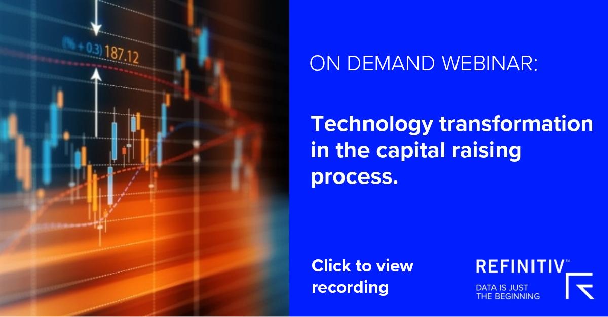 On demand webinar. A digital transformation in capital raising