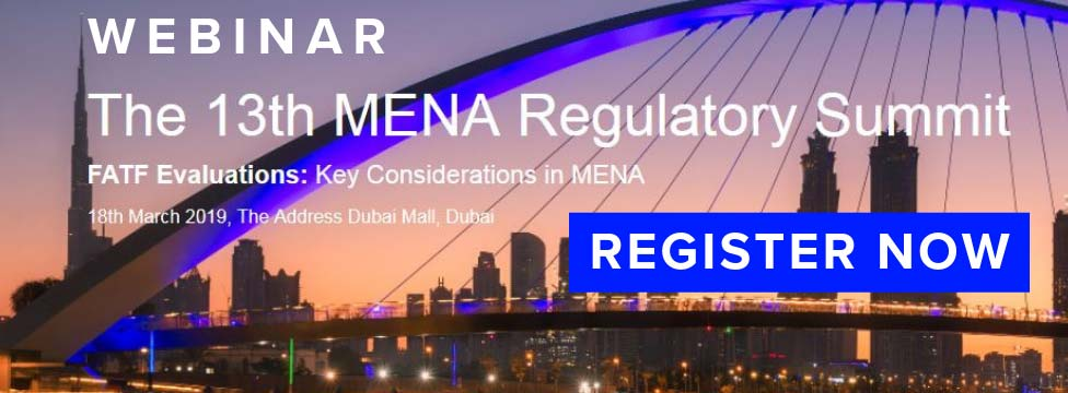 Webinar The 13th MENA Regulatory Summit