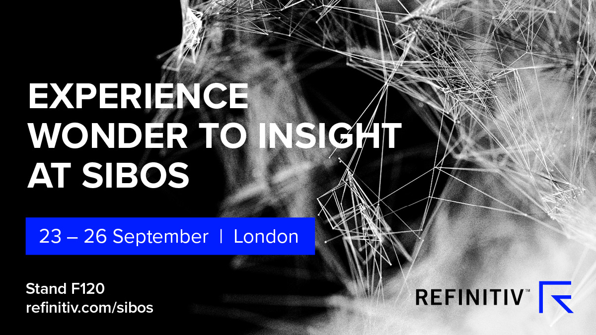 Meet Refinitiv at Sibos 2019