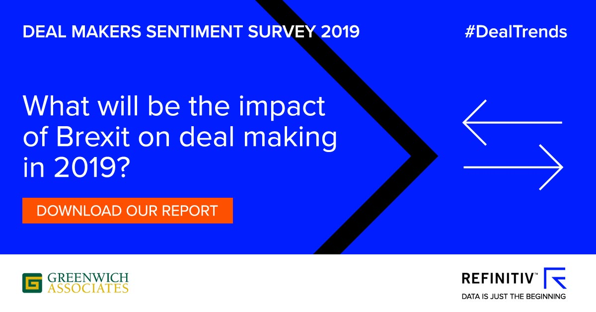 Dealmakers Sentiment Survey 2019. Dealmakers assess capital markets in 2019